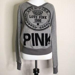 PINK Victoria's Secret crew neck sweatshirt